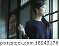 女性 日式旅店 夫人 18943176