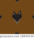 Brown Fox Chocolate Brown Background 18944530