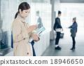 female, smart phone, university student 18946650