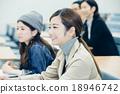 大学生接受讲座 18946742