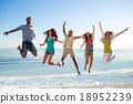 friend, beach, people 18952239