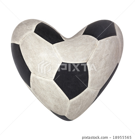 A used football in classical pattern skin 18955565