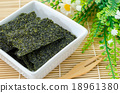 Fried seaweed. 18961380