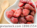 Dried strawberries. 18961554