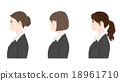 Hairstyle / Businesswoman 18961710