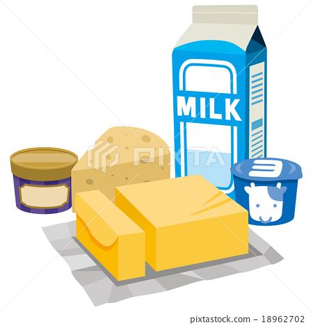 乳製品 矢量 食品 18962702