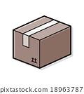 Goods box doodle 18963787