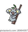 animal koala doodle 18964097