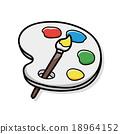 Palette doodle 18964152