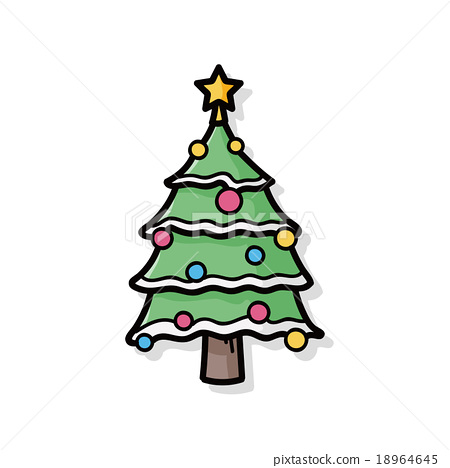 doodle christmas tree  Rainforest Islands Ferry