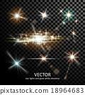 밝은, 벡터, 폭발 18964683