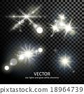 밝은, 벡터, 폭발 18964739