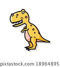 dinosaur doodle 18964895