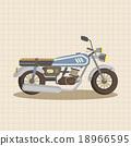 矢量 摩托车 矢量图 18966595