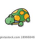 animal turtle doodle 18966646