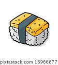 sushi doodle 18966877