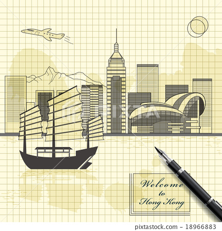 Stock Illustration: vector, illustration, architecture