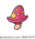 mushroom doodle 18967874