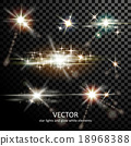 밝은, 벡터, 폭발 18968388