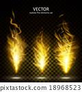 화재, 열정, 벡터 18968523