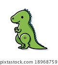 dinosaur doodle 18968759