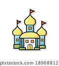 castle doodle 18968812