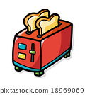 Toaster color doodle 18969069