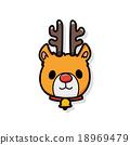 reindeer doodle 18969479