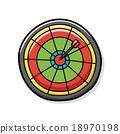 Darts doodle 18970198
