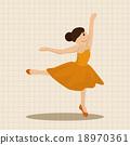 ballet, ballerina, dance 18970361