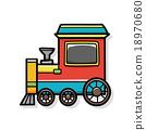 train doodle 18970680