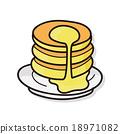 pancake doodle 18971082
