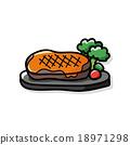 meat doodle 18971298