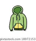 clothes doodle 18972153