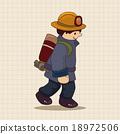 消防员 男人 男性 18972506