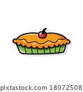 pie doodle 18972508