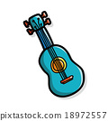 ukulele color doodle 18972557