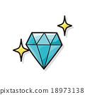 diamond doodle 18973138