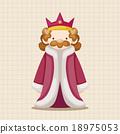 國王 向量圖 向量 18975053
