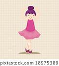 舞 芭蕾舞女 舞蹈 18975389