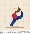 舞 向量圖 舞蹈 18975399