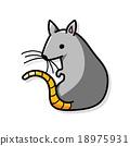 mouse doodle 18975931