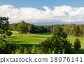 natural landscape with golf field or course view 18976141