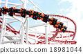파란하늘, 놀이공원, 놀이동산 18981044