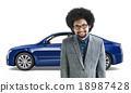 Car Vehicle Transportation 3D Illustration Concept 18987428