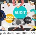 Audit Bookkeeping Finance Money Report Concept 18988224