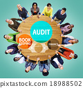 Audit Bookkeeping Finance Money Report Concept 18988502