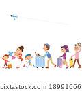 touristic, travel, travelling 18991666