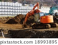 construction site, scene of dismantling, construction sites 18993895