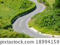 s, curve, road 18994159